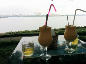 Relaxing in Hanoi