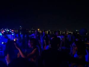 Hanoi rooftop party